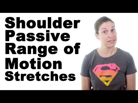 10 Best Shoulder Passive Range of Motion Stretches (PROM)