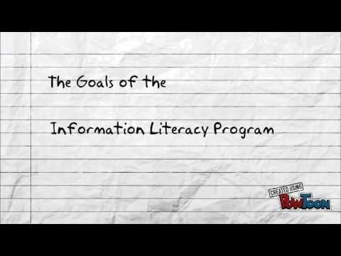 The Goals of the Information Literacy Program