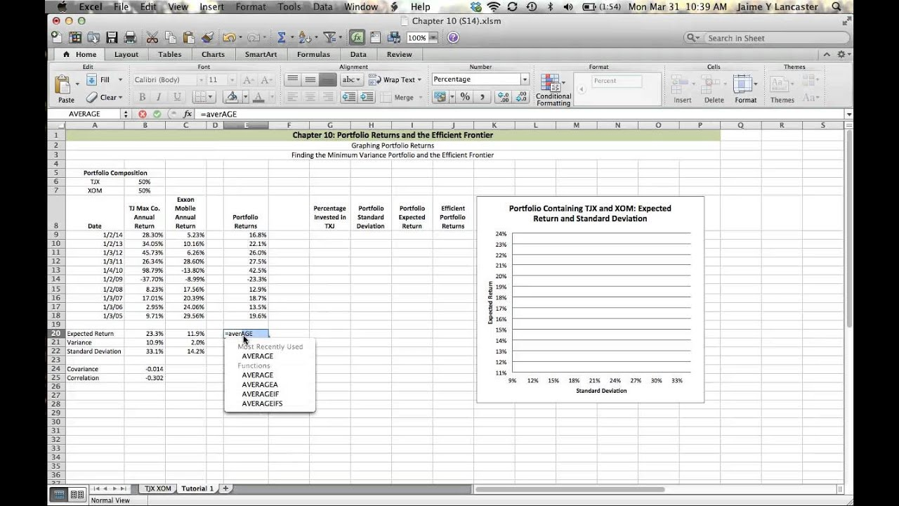 excel chapter 10