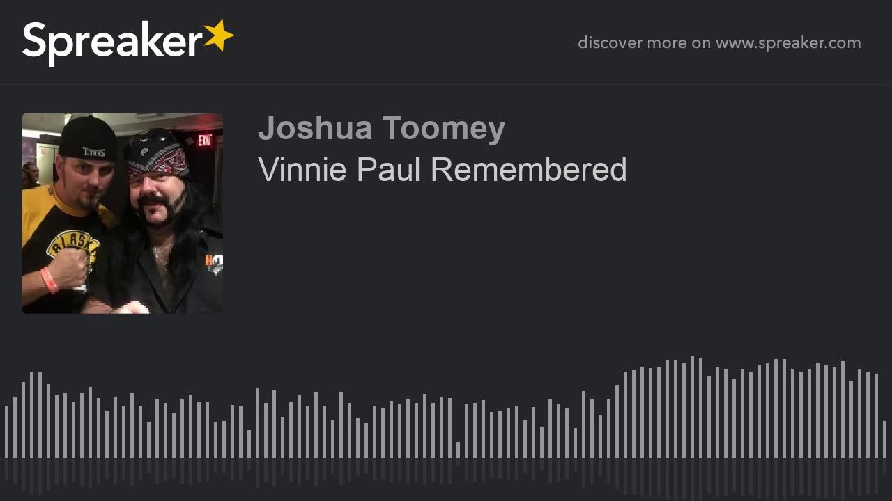 Vinnie Paul Remembered