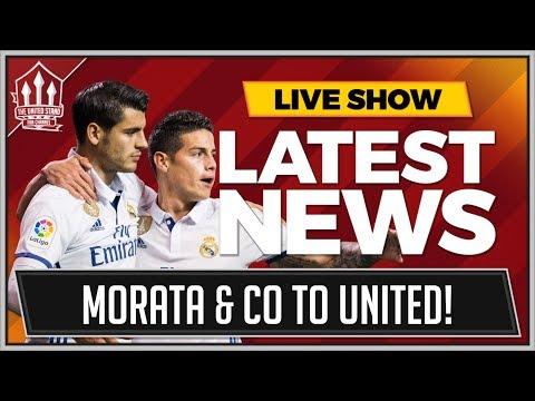 ALVARO MORATA TO MAN UNITED DEAL DONE! RODRIGUEZ TO FOLLOW? MUFC TRANSFER NEWS