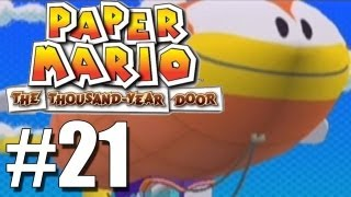 Paper Mario: The Thousand Year Door -21- Trouble Trouble and SHITSVILLE AHOY!