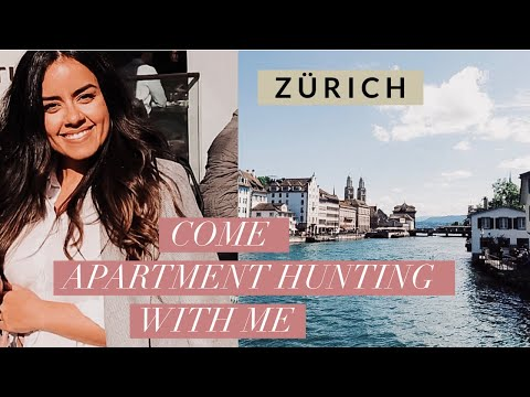 APARTMENT HUNTING IN ZÜRICH | MOVING TO SWITZERLAND | GAL ON DUTY