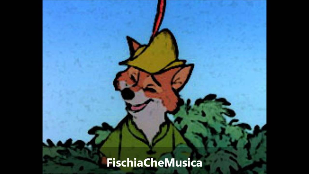 Robin hood sigla cartone disney fischiata