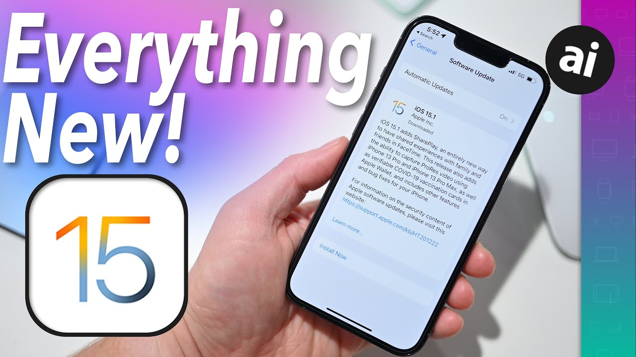 Hands on with all the new features in iOS 15.1