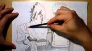 Как нарисовать Саске и Наруто.(Офигенно нарисовали Music: Evanescence - bring me to life, 2011-11-01T15:40:53.000Z)