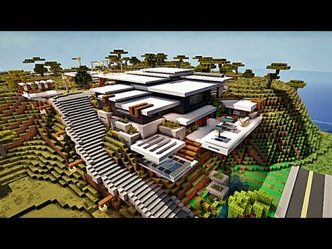 Minecraft Maison Moderne ! by makapuchii - YouTube