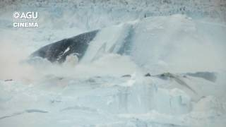"""""""Chasing Ice: Largest glacier calving ever filmed"""" Produced by Adam Lewinter & Exposure Lab"""