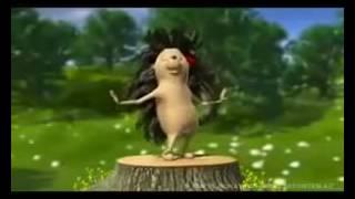 Танцующий ёжик   Видео для поднятия настроение!