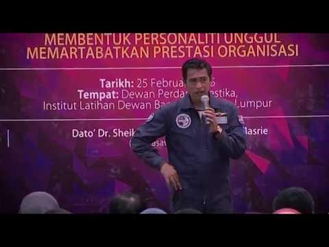 KL Mayor Diary ( IDB ) : Seminar Transformasi Diri Angkasawan _ Datuk Sheikh Muzaffar