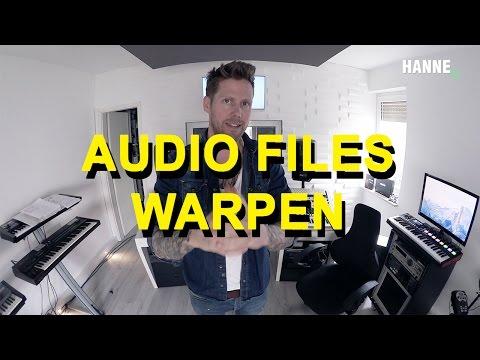 Ableton Live 9 - Audio warping / beats, loops & sounds anpassen