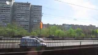 Перегон метро Автозаводская - Коломенская // май 2013