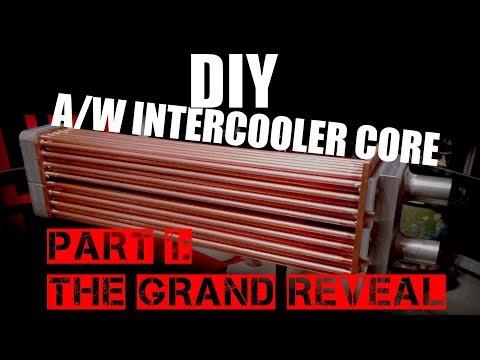 DIY Intercooler Core - Part 1 - The Grand Reveal