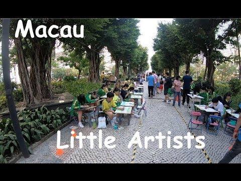Macau: Little Artists in the Park
