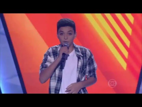 Wagner Barreto canta 'Índia' no The Voice Kids - Audições|1ª Temporada