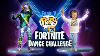 Fortnite Dance Challenge In Real Life | Mystery Spin Wheel | Family Pop TV