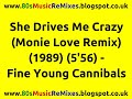 Miniature de la vidéo de la chanson She Drives Me Crazy (Monie Love Remix)