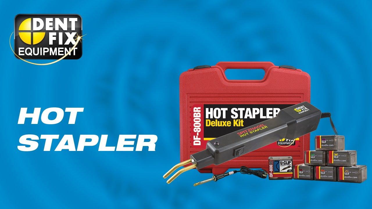 Plastic Bumper Repair Kit >> Hot Stapler Bumper Plastic Repair Assistant Youtube