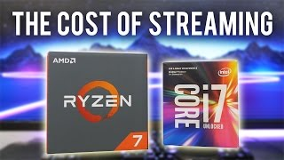 Does the 1700 BEAT the 7700K in Games when STREAMING?