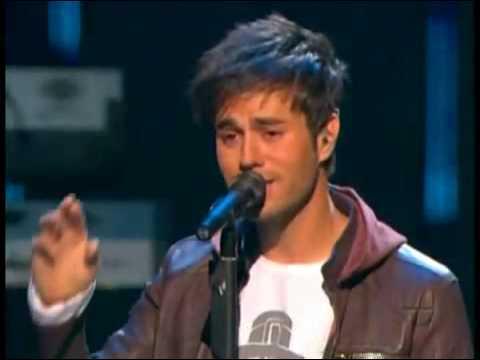 Enrique Iglesias ft Wisin y Yandel Lloro Por Ti Live