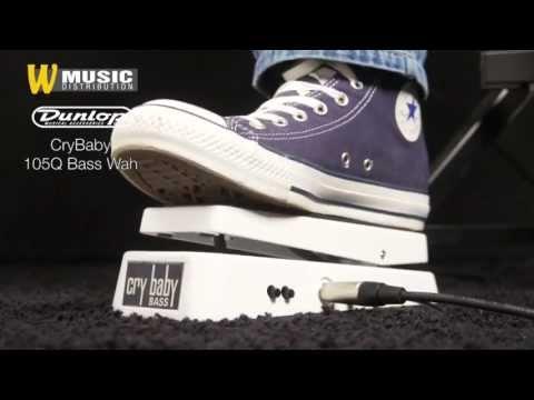 Dunlop - CryBaby 105Q Bass Wah