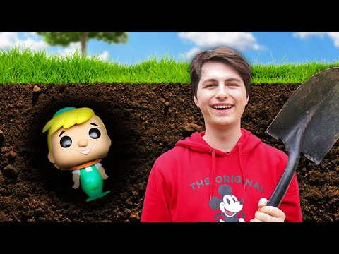 I Buried a Funko Pop For a MONTH and Here's What Happened