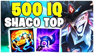 Der 500 IQ SHACO Top Lane | Noway4u Highlights LoL