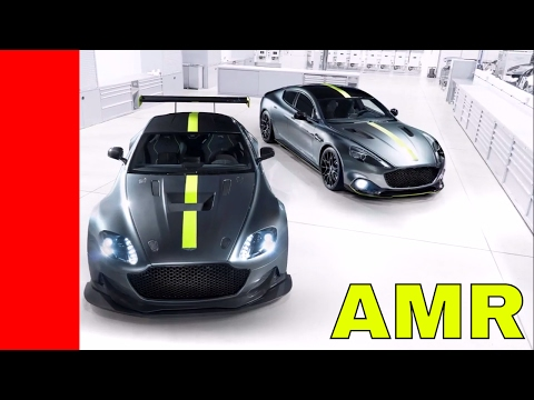 Aston Martin Rapide and Vantage AMR