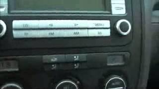 menu cacher sur volkswagen golf 5 jetta sciroco de la climatisation compa