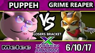 Melee - Puppeh Jigglypuff Vs. Grime Reaper Fox Spring Arcadian Losers Bracket