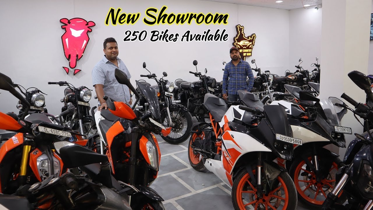 New Showroom Open With 250 Used Bike Stock At Bhumi Motors   MCMR