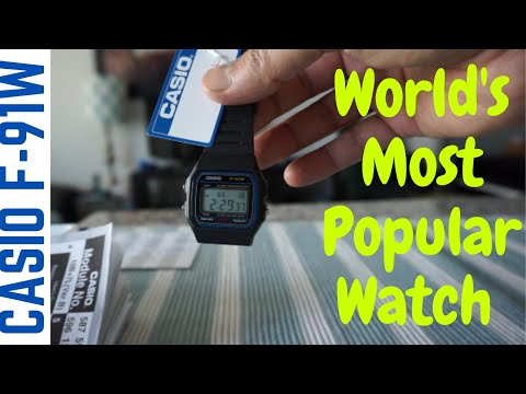 Casio F-91W | The World's Most Popular Watch | Timeless Classic Casio F-91W The Best Cheapest Watch