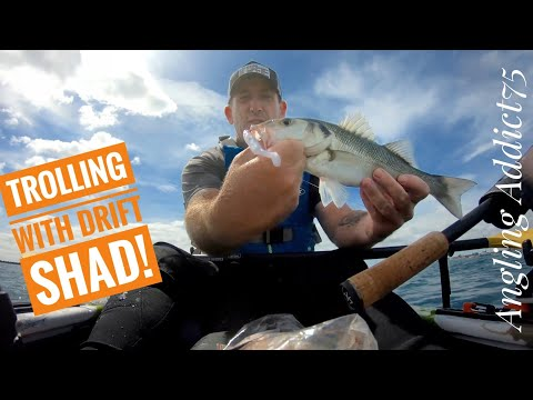 Lure Fishing For Bass From A Kayak
