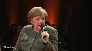 Merkel Says She Will Fight to the End for an Orderly Brexit