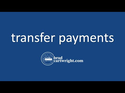 Equity in the Distribution of Income Series:  Transfer Payments