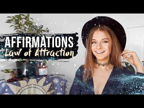 AFFIRMATIONS // Law of Attraction