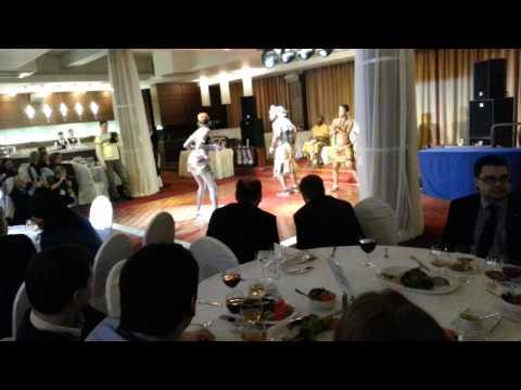 Афро Бенс - Корпоративный праздник в Гостинице Амбассадор санкт-петербург 26 декабря 2013