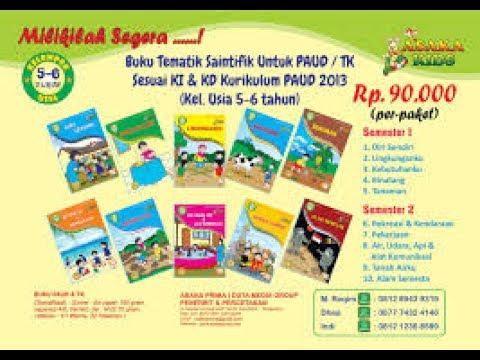 Katalog Buku Paud Tk 2017 Brosur Buku Tk Paud 021 55701397 Youtube