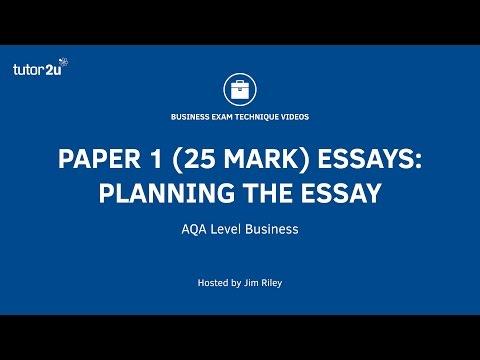 tutor2u essay plans