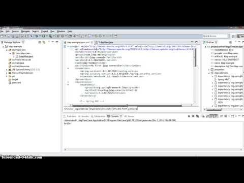 Spring Java LDAP from scratch - 1