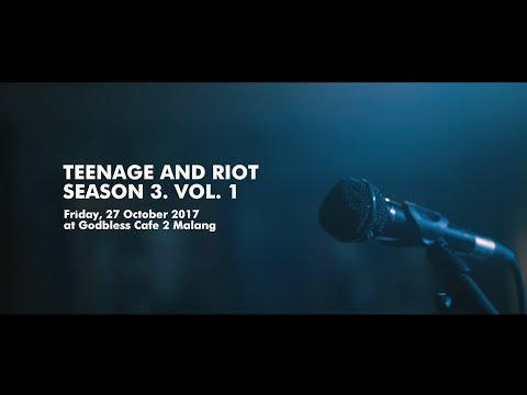 Teenage and Riot Season 3 : Vol. 1