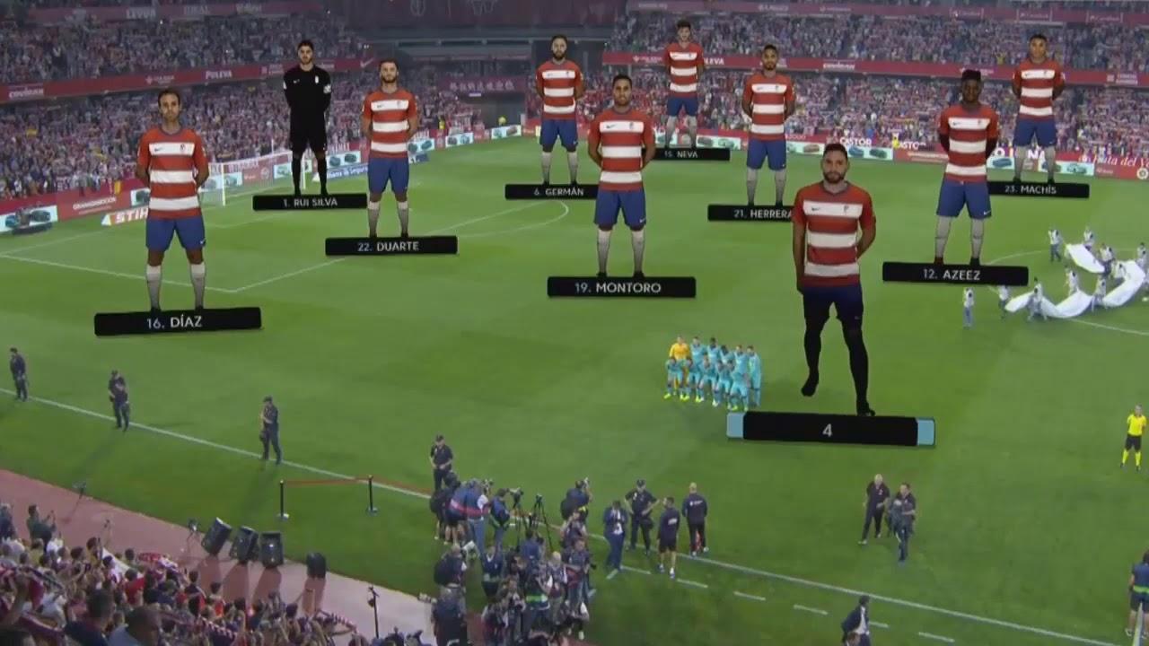 GRANADA 2 vs 0 BARCELONA , Messi Lose again 😣😭 - YouTube