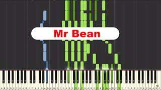Mr Bean (Animated series) on piano [SYNTHESIA]