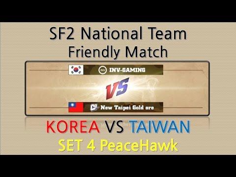 SF2 KOREA(INV-GAMING) VS TAIWAN(N.T. GOLD ORE) SET 4 [2016.03.12]
