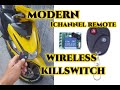 Anti-Nakaw Wireless Kill Switch Anti theft 1 Channel Remote any Motorcycle (Part1)