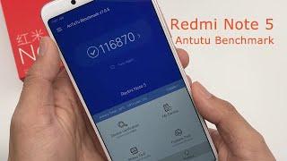 Xiaomi Redmi Note 5 Antutu Benchmark