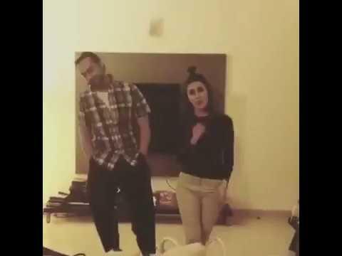 Kubra khan dancing with Gohar Rasheed