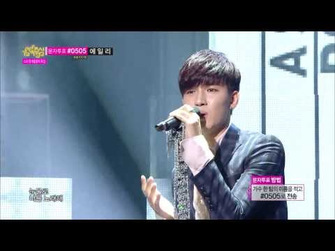 Roh Jihoon  A Song For You, 노지훈  너를 노래해, Music Core 20140208