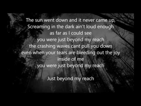 Andy Black - Beyond My Reach - LYRICS