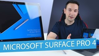 Microsoft Surface Pro 4 Review - Best Windows 10 Tablet ?